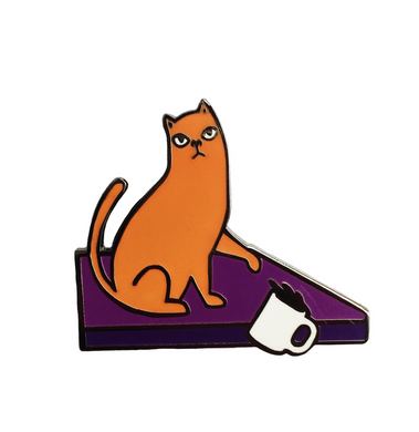 Cats Hate You Enamel Pin