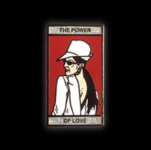 Celine Dion Enamel Pin | The Power of Love early 2000's collectible flair for your hat, lapel, jacket