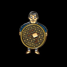 Bob's Burgers x Stranger Things Mashup Pin