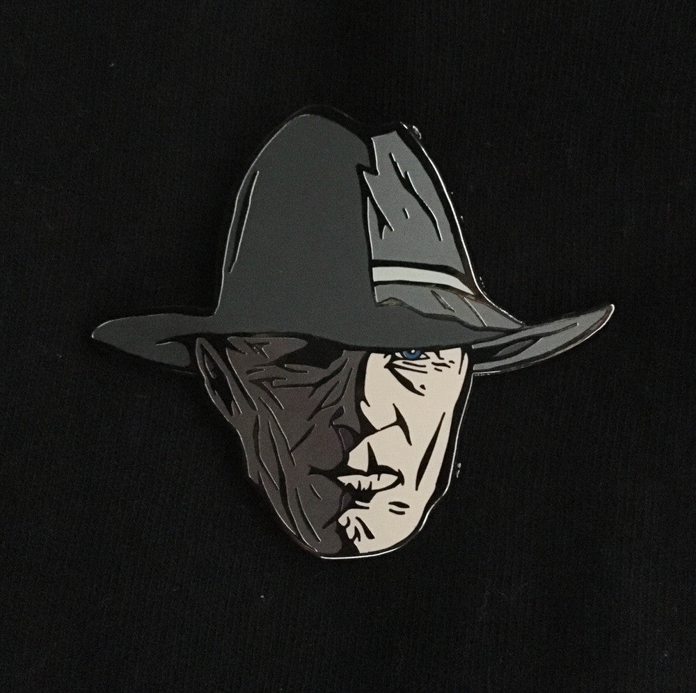 Westworld Man in Black Enamel Pin
