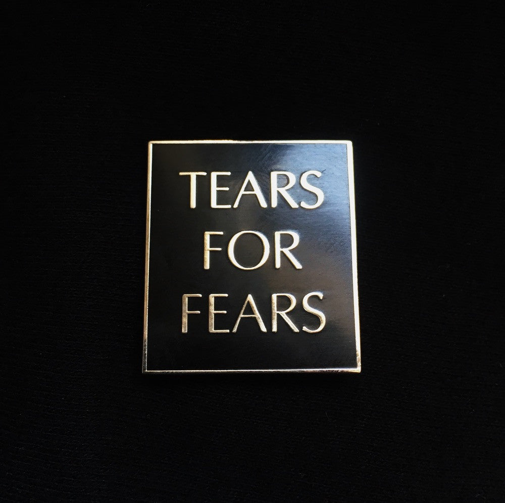 Tears for Fears Enamel Pin