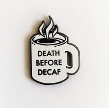 Diner Coffee Collaboration Enamel Pin With @champsdiner