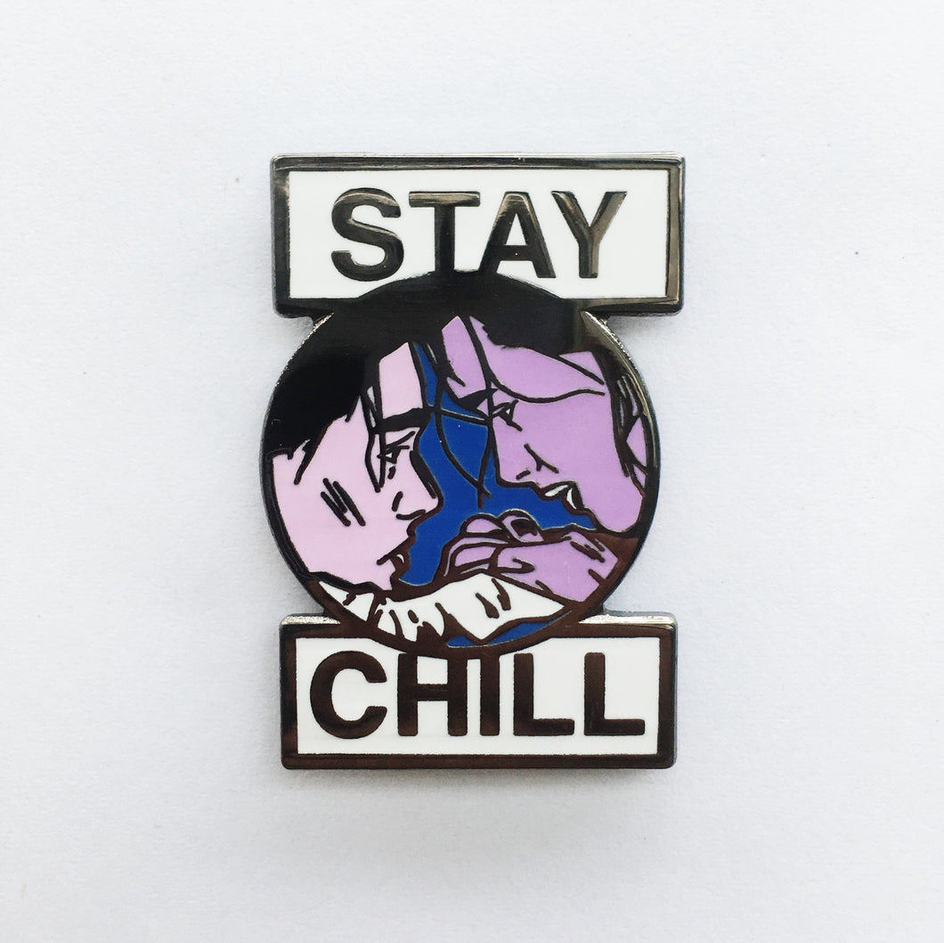 Stay Chill Enamel Pin