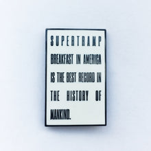 Supertramp Breakfast in America Enamel Pin
