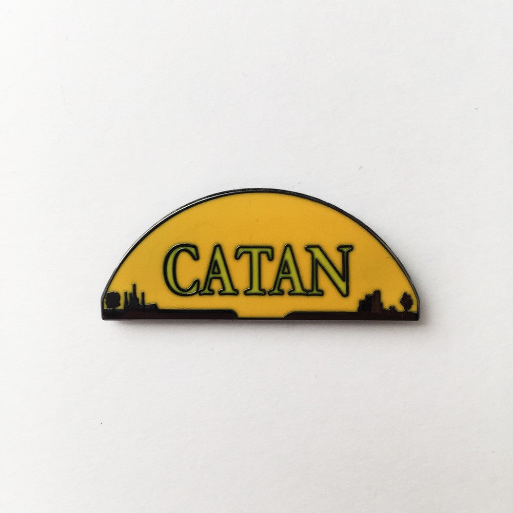 Settlers of Catan Enamel Pin