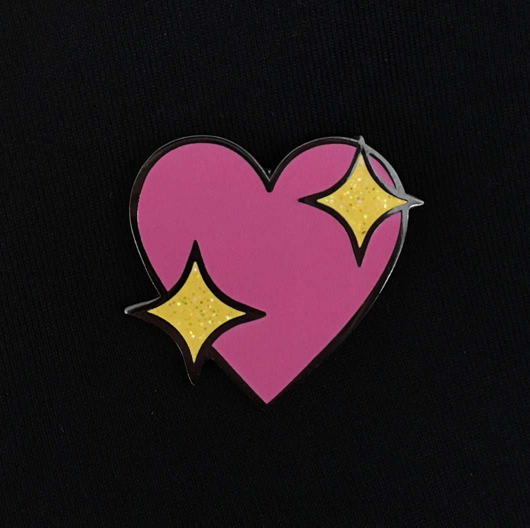 Heart Emoji Enamel Pin