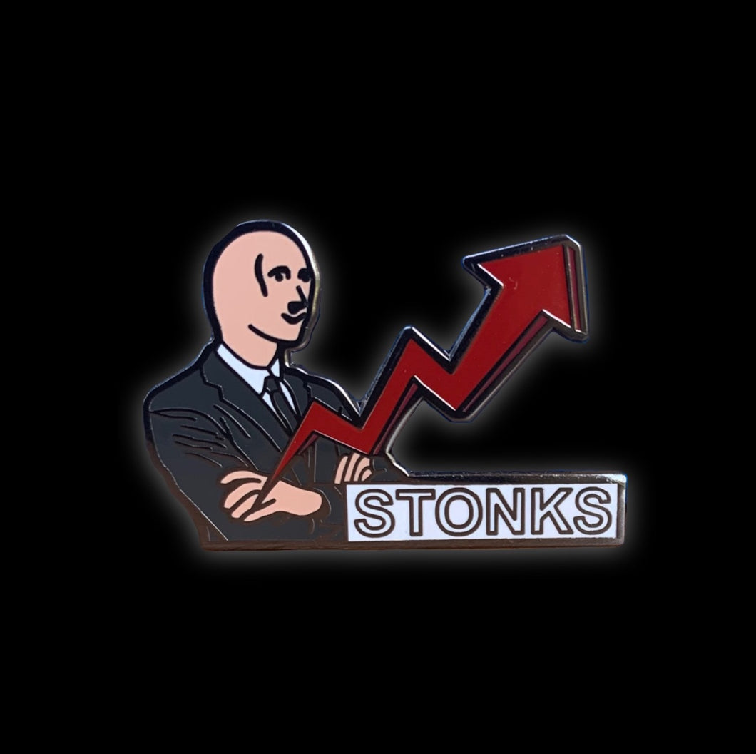 Stonks pin from me, @pinlord