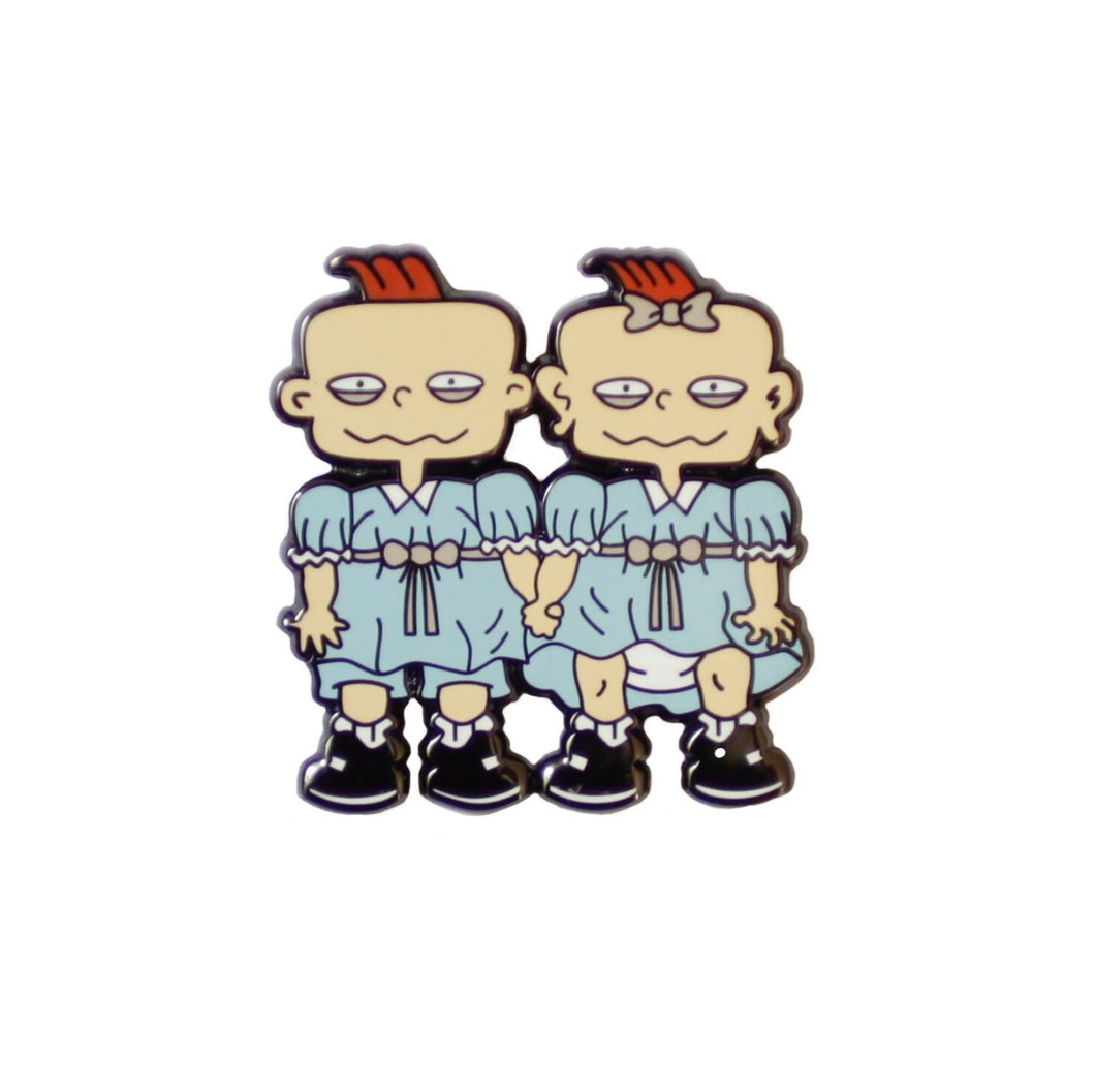 Phil and Lil Grady Enamel Pin