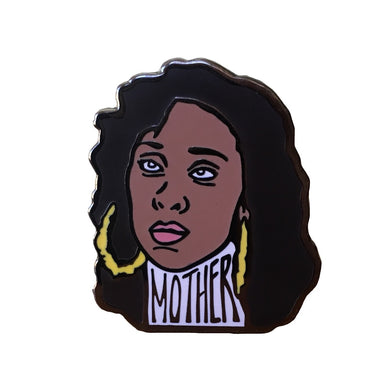 Mother Blanca enamel pin