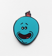 Mr. Meeseeks Enamel Pin | Rick and Morty collectible flair for your hat, lapel, jacket