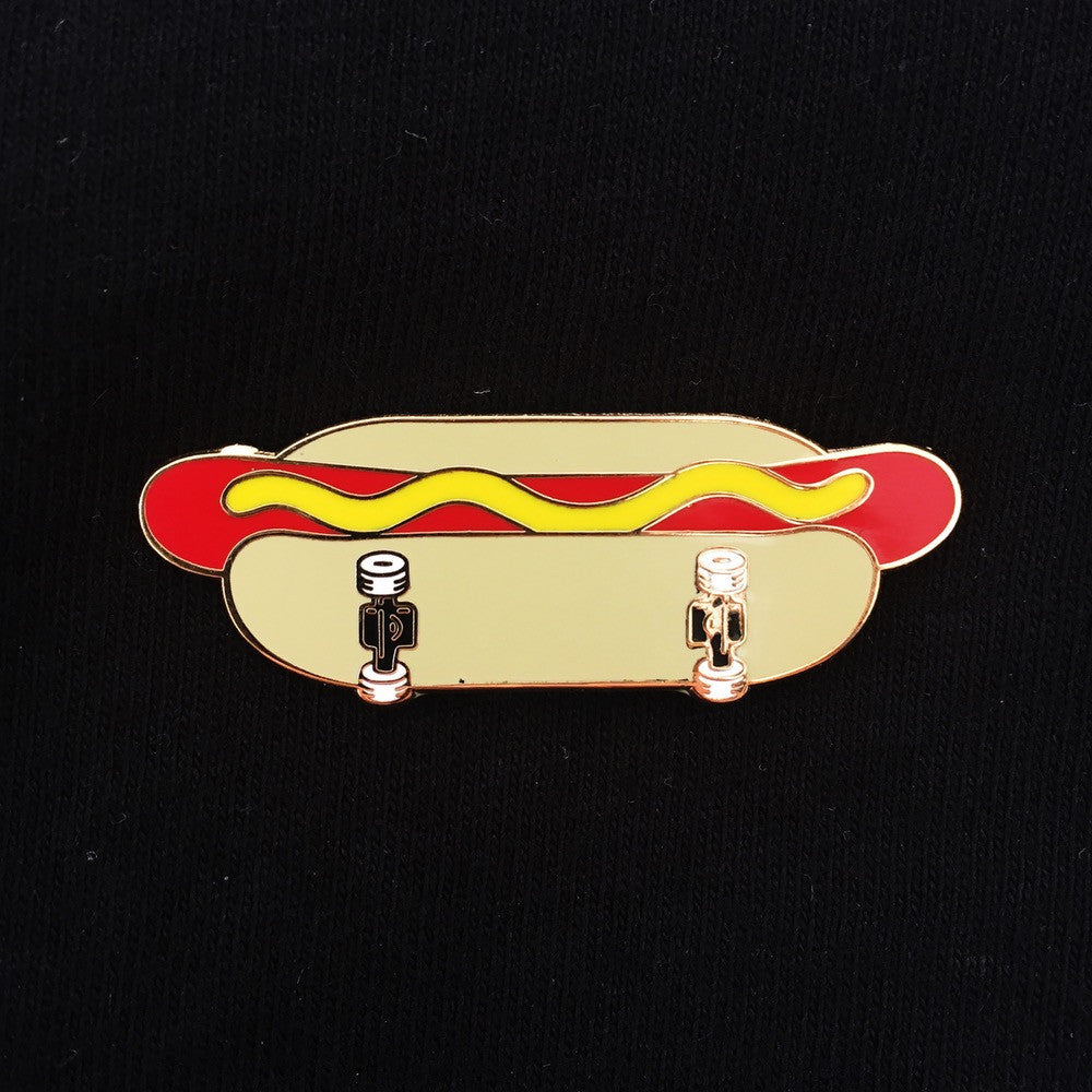 Skate Dog Collaboration Enamel Pin With @efdot