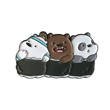 we bear bears sushi enamel pin