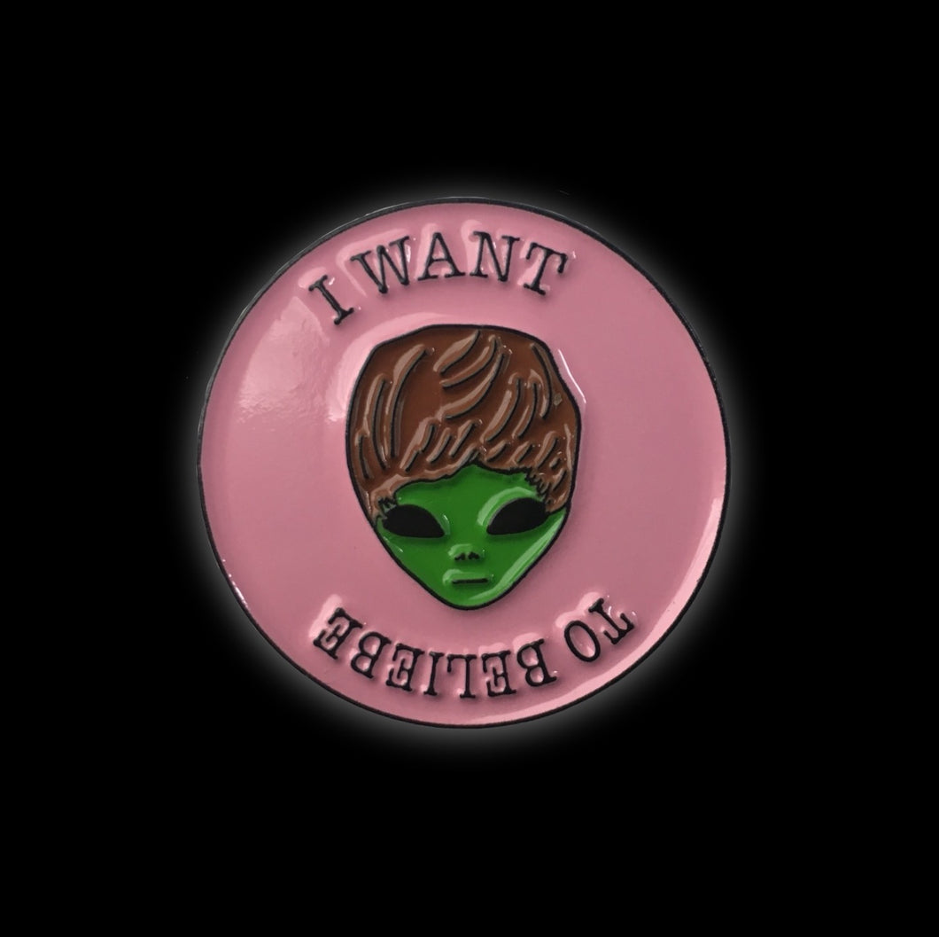 I want to beliebe #pinlordcollab Winner Enamel Pin Made In Collaboration With @johnnypinco