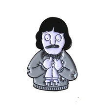 The shinning enamel pin