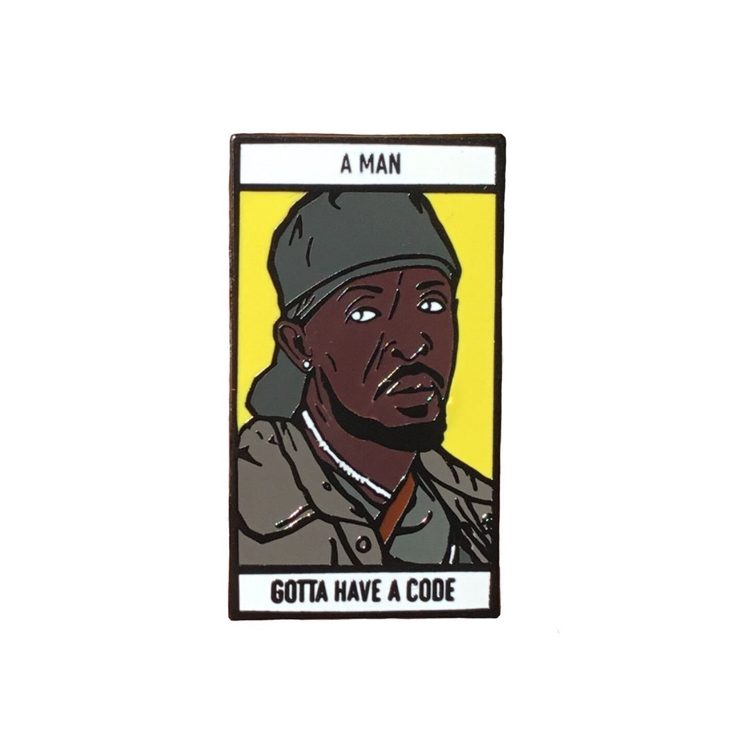 The Wire Omar Little Enamel Pin