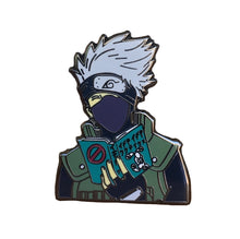Kakashi Book pin from @lilbbbluushop and me, @pinlord