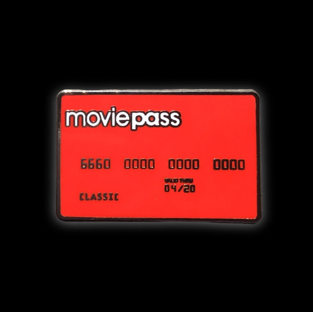MoviePass Card Enamel Pin