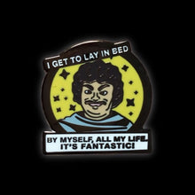 Lonely nacho Libre Enamel Pin