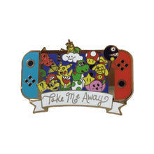 Nintendo Switch Take Me Away  #pinlordcollab winner pin made in collaboration with @aetheticalleycat