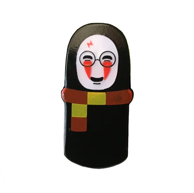 No Face Potter #pinlordcollab winner pin made in collaboration with @vvhainly