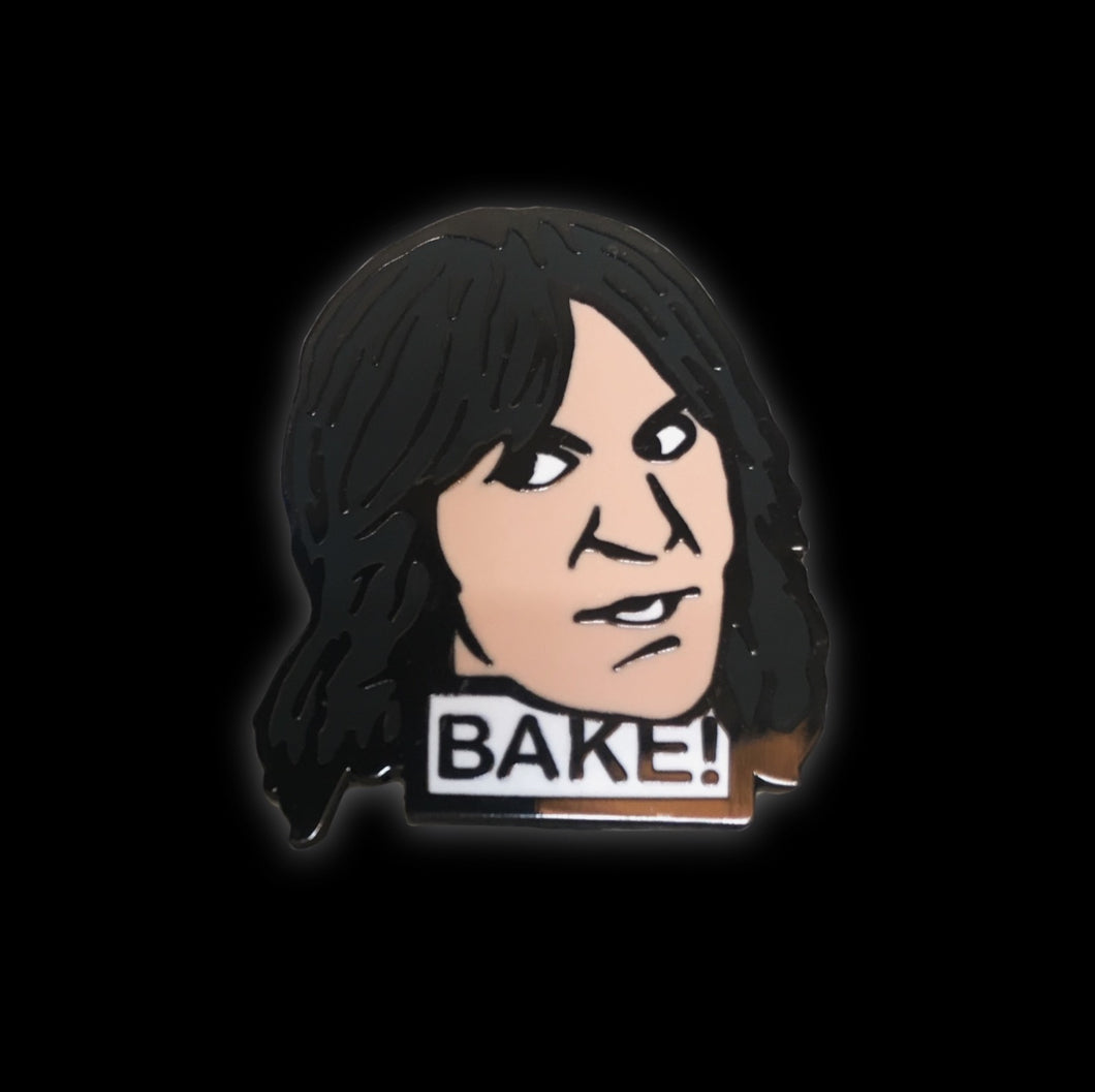 Noel Fielding Bake Great British Baking Show Enamel Pin