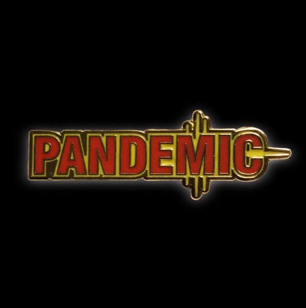 Pandemic Board Game Enamel Pin