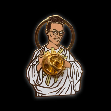 Charity Sacred Pin Heart Pinlord pin made by @psa_press and @highfivepins
