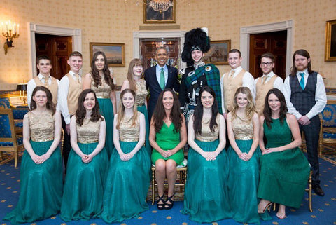 I played for President Obama at the 2016 St. Patrick's Day celebrations in the White House