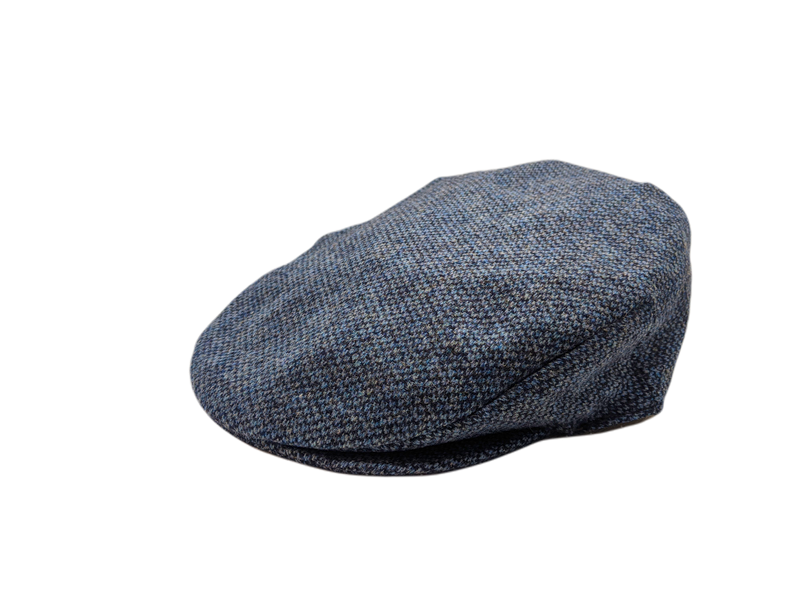 Vintage Tweed Cap - Blue Barleycorn
