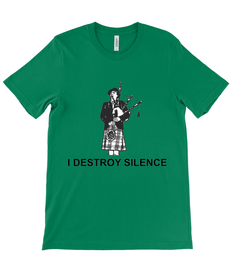 I Destroy Silence - Black