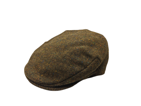Vintage Tweed Cap - Green Barleycorn