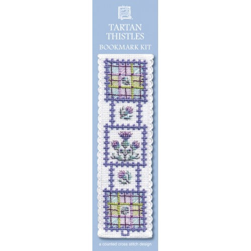 Tartan Thistles Bookmark Kit