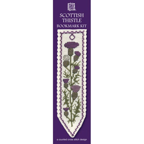 Scottish Thistle Bookmark Kit