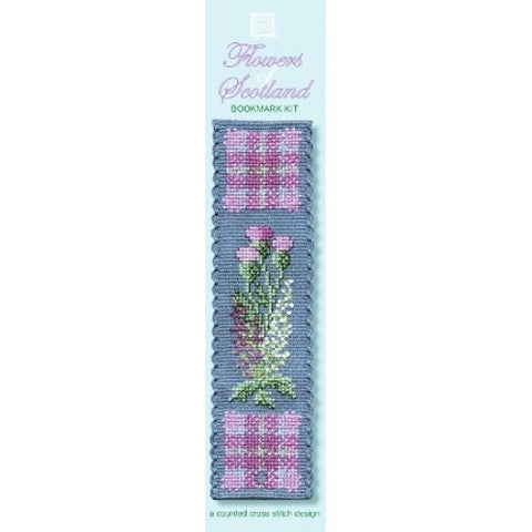 Flowers of Scotland Bookmark Kit