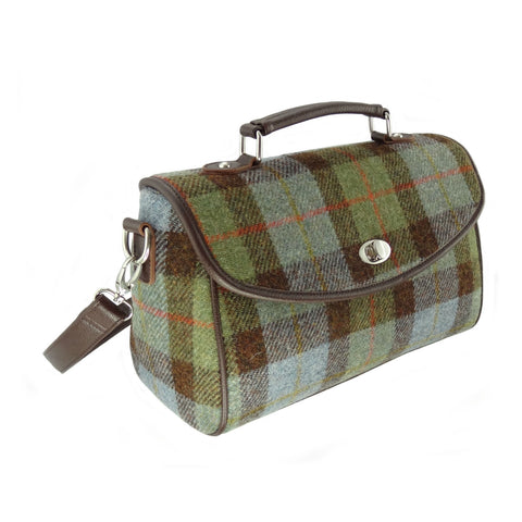 MacLeod Tartan Harris Tweed Satchel