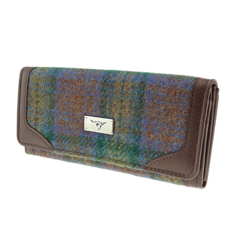 Skye Tartan Harris Tweed Long Purse