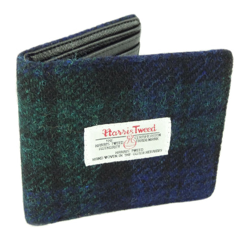 Black Watch Harris Tweed Wallet
