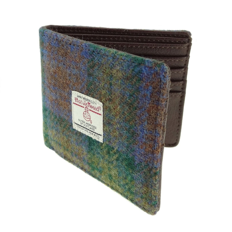 Isle of Skye Tartan Harris Tweed Wallet