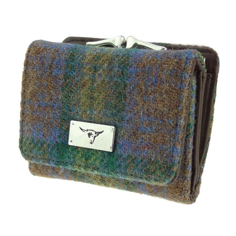 Skye Tartan Harris Tweed Small Purse