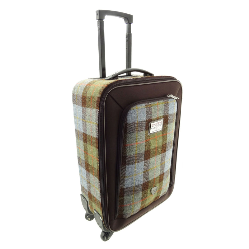 MacLeod Tartan Harris Tweed Trolley Case