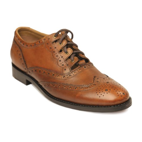 Brown Ghillie Brogues - Goodyear Welted