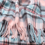 Diana, Princess of Wales Memorial Rose Tartan Lambswool Blanket
