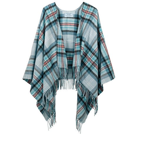 Diana, Princess of Wales Memorial Tartan Lambswool Short Serape