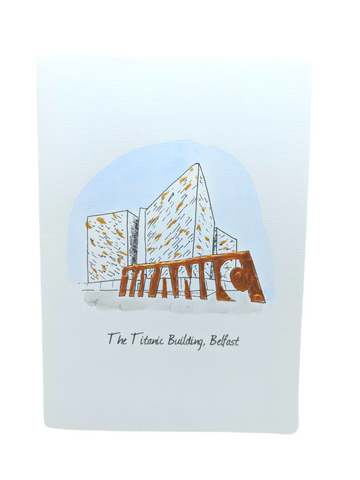 Titanic Building Greetings Card