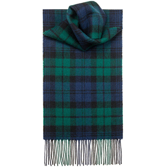 Black Watch Modern Lambswool Scarf