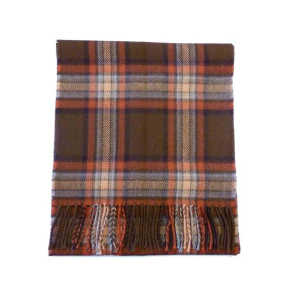 County Down Tartan Lambswool Scarf