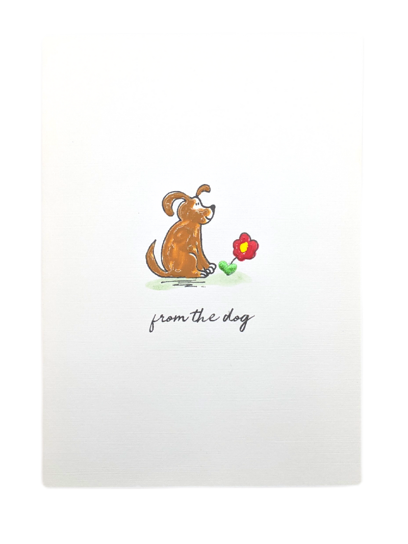 From the Dog Greetings Card
