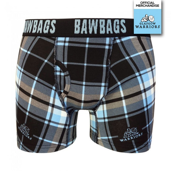 Glasgow Warriors Tartan Boxer Shorts