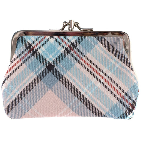 Diana, Princess of Wales Memorial Rose Tartan Double Medium Purse