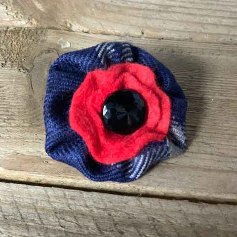 Help for Heroes Tartan Poppy
